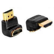 Adaptador  L  HDMI Macho X Fêmea Hitto 020045