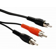 Cabo de Audio Y RCA 1 RCA x 2 RCA RCA PT1526