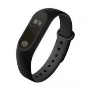 Bracelete Inteligente à Prova de Água M2 Plus com Monitor de Freqüência Cardíaca - Preto