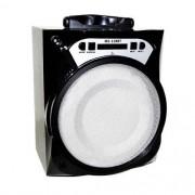 Caixa De Som Amplificada Portátil Fm Mp3 Radio Usb Ms-138bt