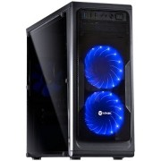 Computador CPU Top Gamer Amd Ryzen 7 1700 3.0Ghz 16GB DDR4 HD 1TB DVD-RW RX580 8GB Fonte 700W real