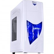 Gabinete Vinik MidTower VX Gaming Eclipse V2 Branco FAN Frontal 120mm LED Azul Janela Acrílica 25336