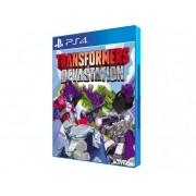 Jogo p/ PS4 Transformers Devastation Mídia Física