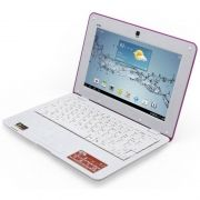 Netbook BAK BK-129 Tela 10,1 1GB/8GB/13MP - Rosa