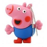 PenDrive Desenho Animado Peppa George Pig USB 2.0 8GB