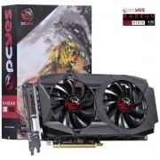 PLACA DE VIDEO AMD RADEON RX580 4GB GDDR5 256BITS DUAL-FAN - PY580RX25604D5