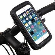 Suporte de Smartphone até 5,5 polegadas para Moto e Bicicleta
