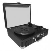 Vitrola Toca Discos Empire Black Entrada USB Saída RCA