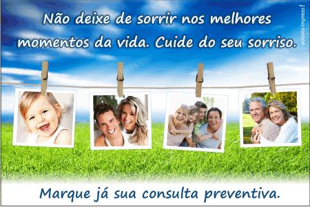 Cartão Chamada para Prevenção - Ref. 1403
