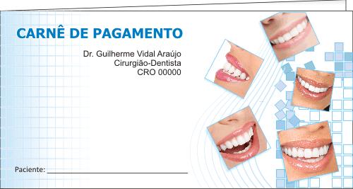 CAPA Carnê de Pagamento - Ref. 1300  - Odonto Impress