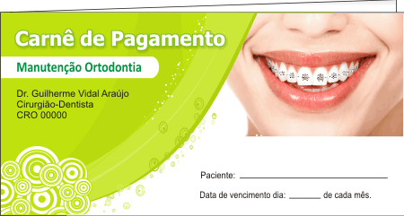 CAPA Carnê de Pagamento - Ref. 1302