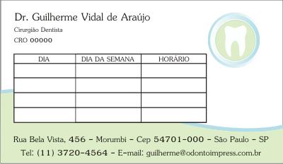 Cartão de Retorno - Ref. 2004