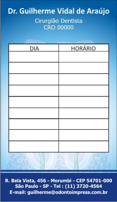 Cartão de Retorno - Ref. 2091