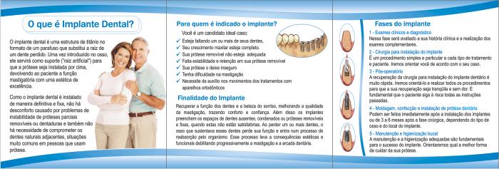 Folder IMPLANTODONTIA - Ref. 2100  - Odonto Impress