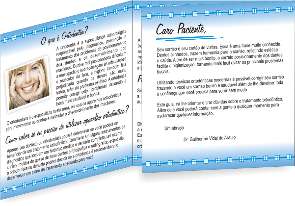 Folder ORTODONTIA - Ref. 2101  - Odonto Impress