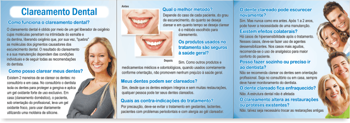 Folder CLAREAMENTO DENTAL - Ref. 3151 - Odonto Impress