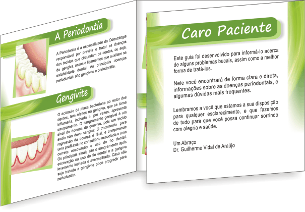 Folder PERIODONTIA - Ref. 2104  - Odonto Impress