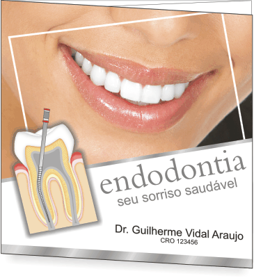 Folder ENDODONTIA - Ref.2103  - Odonto Impress
