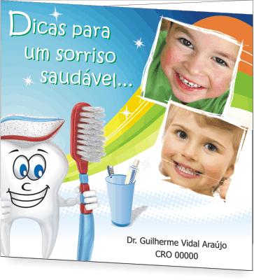 Folder SAÚDE BUCAL PEDIATRIA - Ref. 2201