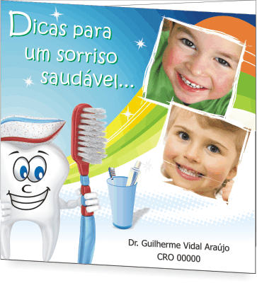 Folder SAÚDE BUCAL PEDIATRIA - Ref. 2201