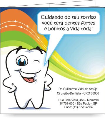 Folder SAÚDE BUCAL PEDIATRIA - Ref. 2201  - Odonto Impress