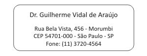 Etiqueta Remetente - Ref. 3200