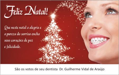 Cartão de Natal - Ref. 1706 <br><font color=´#008000´>ORTODONTIA </font>