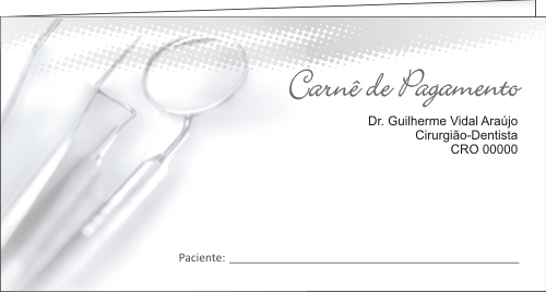 CAPA Carnê de Pagamento - Ref. 1303