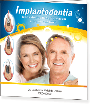 Folder IMPLANTODONTIA - Ref. 2105  - Odonto Impress