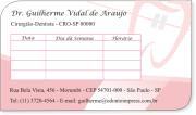 Cartão de Retorno Slice ORTODONTIA - Ref. 3687