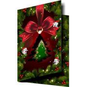 Cartão de Natal CORTE ESPECIAL - Ref. 1750