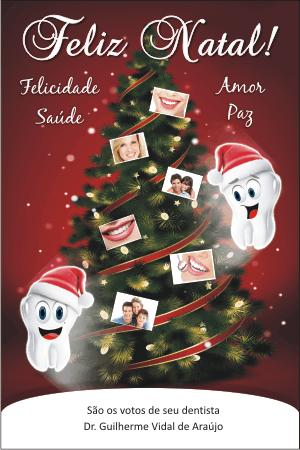 Cartão de Natal - Ref. 1655  - Odonto Impress