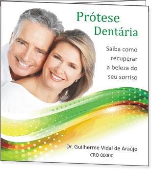 Folder PRÓTESE DENTÁRIA - Ref. 2096