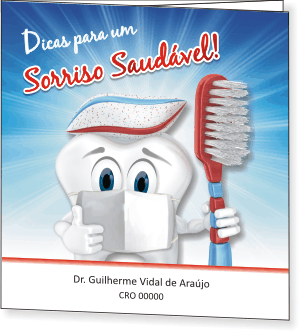 Folder SAÚDE BUCAL PEDIATRIA - Ref. 2206