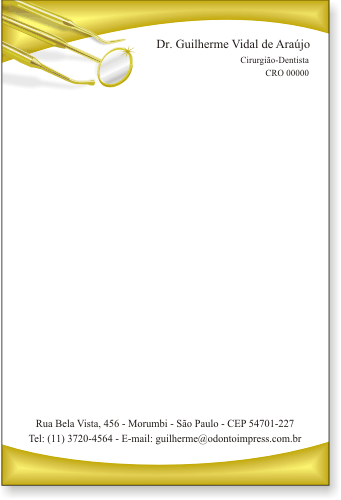 Receituário - Ref. 2595