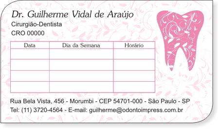 Cartão de Retorno Slice - Ref. 3651