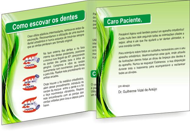Folder GUIA ORTODÔNTICO - Ref. 2205  - Odonto Impress