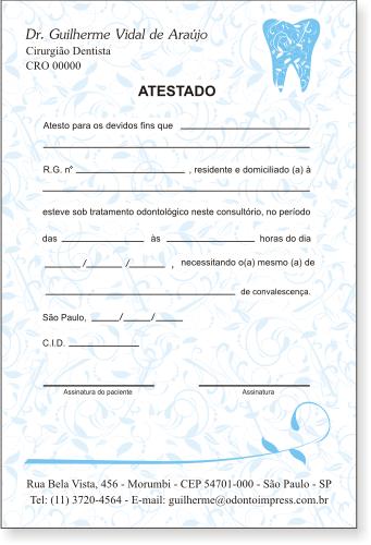 Atestado - Ref. 0791