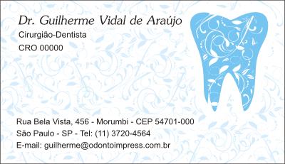 Cartão de Visita Classic - Ref. 0891