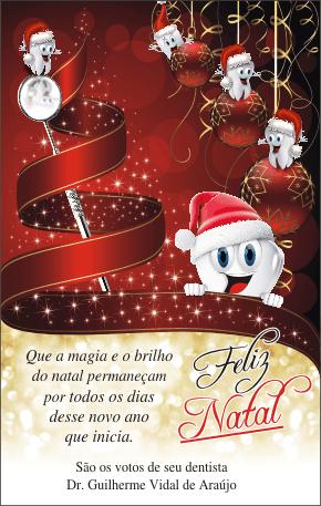 Cartão de Natal - Ref. 1649  - Odonto Impress