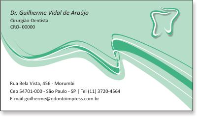 Cartão de Visita Premium - Ref. 0989