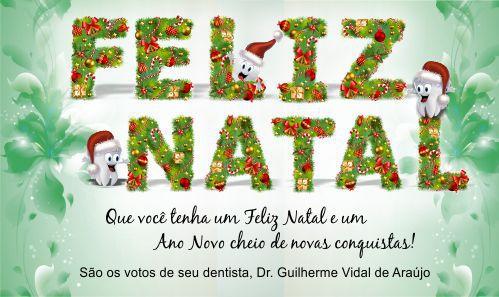 Cartão de Natal - Ref. 1646  - Odonto Impress