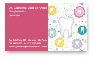 Cartão de Visita Corte Especial - Ref. 3800