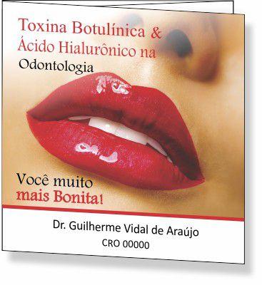 Folder de Toxina Botulínica e Preenchimento - Ref. 2095