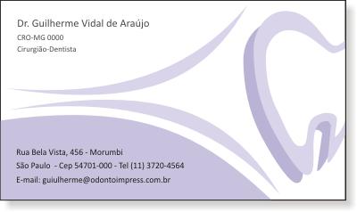 Cartão de Visita Classic - Ref. 0888