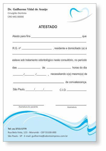 Atestado - Ref. 0787