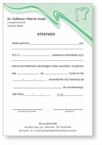Atestado - Ref. 0789