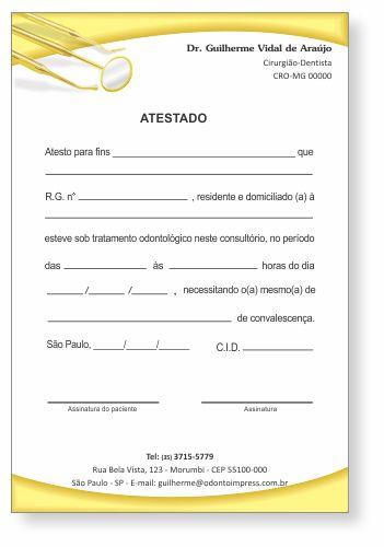Atestado - Ref. 0795
