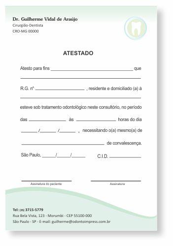 Atestado - Ref. 1010