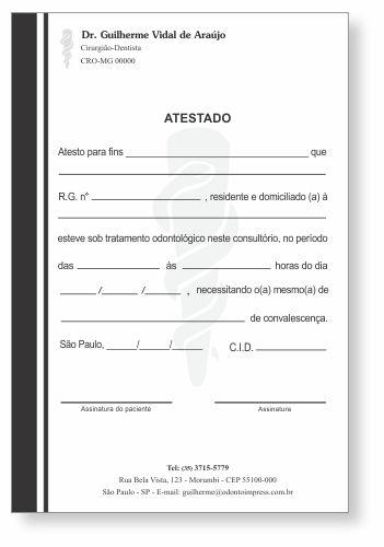 Atestado - Ref. 1011